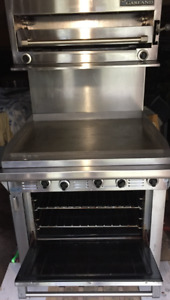 "GARLAND propane master series 34"" grill oven salamander  combo"