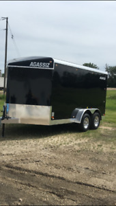 Brand new Agassiz enclosed trailer