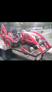 Mini Backhoe for Rent or Hire!