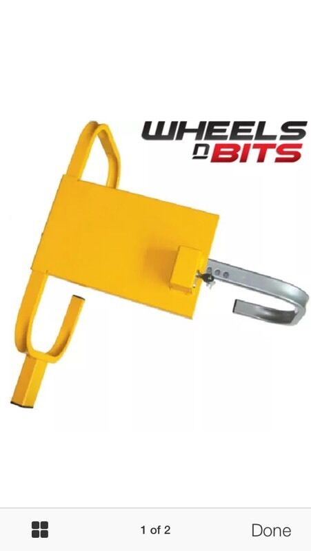 Wheel Clamp In Middlesbrough North Yorkshire Gumtree