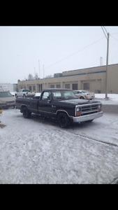 1988 Dodge Power Ram 1500 D150 Pickup Truck