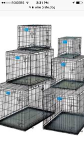 kennels or crates