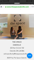 10 classes at The Space Yoga in Oakville