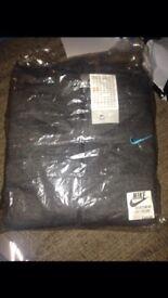 New Nike dark grey men's full tracksuit Size L large
