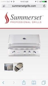 Stainless Steel BBQ Like New Built in