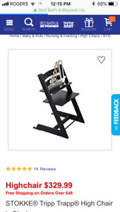 Stokke high chair- great deal
