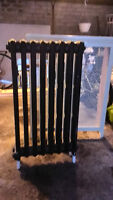 Cast Iron Hot Water Radiator with Cover