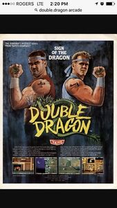 Double dragon arcade machine looking to buy