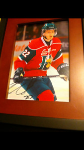 Nathan MacKinnon Autographed Picture