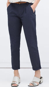Women's Straight Trousers/ Pants from Zara - Size 10 - BRAND NEW