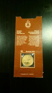 1976 Montréal Olympic 14K Gold Coin