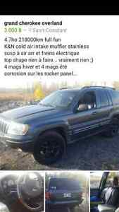 2002 Jeep Cherokee Camionnette