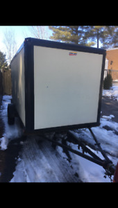 2007 Strong box 5x10 enclosed trailer