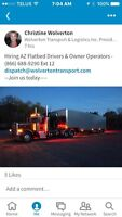 Experienced Flatbed Dispatcher