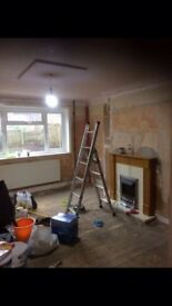 Self employed painter and decorator