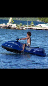 Seadoo inflatable jet ski for kids