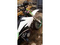 Demon x 140 R pro pit bike £410!!! Not quad 125 cr