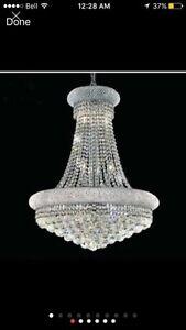 Chandlier Empire  Luxury k9 Crystal (NEW)