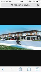 Maison à louer 1800$/mois - quartier Champfleury  (neuve)