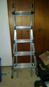 21' Multi-purpose extension ladder
