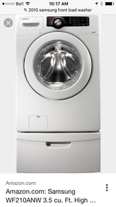 2010 Samsung front load washer