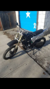 2 dirt bikes that need work. Trade for one thats ready to ride.