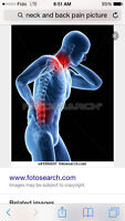 Relief pain in 1st treatment (registered massuse)