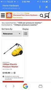 Brand New - Pressure Washer - Great Deal