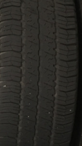 4 Goodyear Wrangler Tires (used)