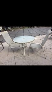 Patio set for two