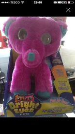 Bright eyes tiny the elephant (xmas Bargin Palace pet interactive toy)