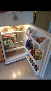Whirlpool fridge and ceramic top stove