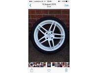 Hi-octane alloy wheels