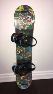 KIDS BURTON SNOWBOARD CHOPPER 120