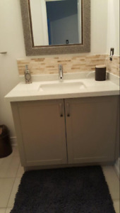 "$250 for 40""  quartz vanity top"