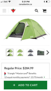 Woods Expedition Cascade Tent, 4-person