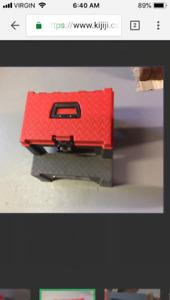 Step stool tool box