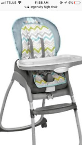 Looking For - Ingenuity high chair