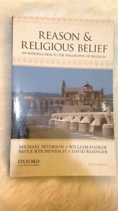 Reason & Religious Belief by Peterson, Hasker, Reichenbach,..