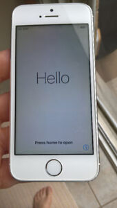 Used - iPhone 5s - 16G, Works well but not selfie camera