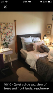 Private bedroom & bath good for contract staff