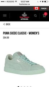 New size 9 puma sneakers