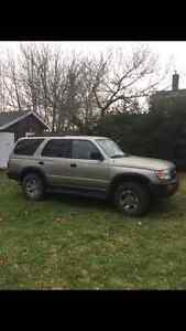 1998 TOYOTA 4RUNNER REAL 4x4 STILL INSPECTED $2700 OBO