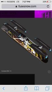 Turn Your Skateboard Into A Snowskate With Fuse 4x4 Kit!
