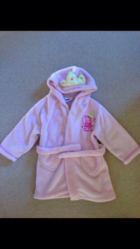 Peppa Pig dressing gown 2-3 years   in Norwich, Norfolk   Gumtree