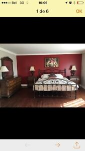 Magnifique set de chambre de haute gamme