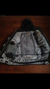 firefly women's snowboard jacket in used but wearable condition.