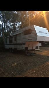 1994 west wind fifth wheel camper 27.5ft