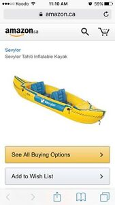 Inflatable Kayak - new! Never used.