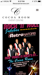NYE at The Cocoa Room tickets